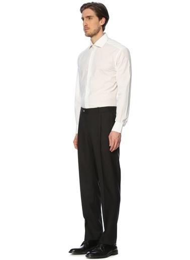 Çizgili Uzun Kollu Klasik Gömlek-Corneliani